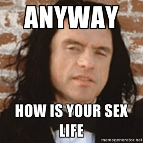 How good is your sex life