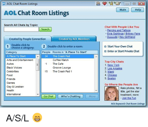 Girlfriend chat room