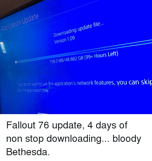 fallout 76 not downloading