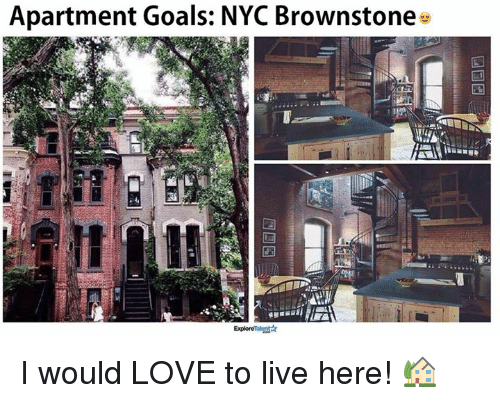 Memes And Nyc Apartment Goals Brownstone I Would Love To