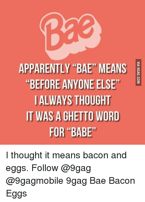 Bae Meaning | www.imgkid.com - The Image Kid Has It!