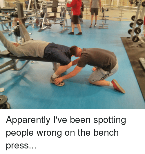 Apparently, Gym, And Yeah: Apparently Iu0027ve Been Spotting People Wrong On