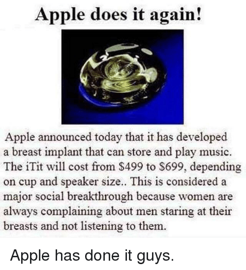 Apple Does It Again! Apple Announced Today That It Has Developed a