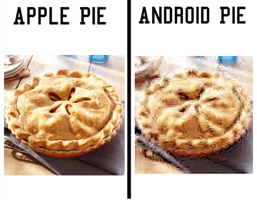 Apple Pie Android Pie Android Meme On Me Me