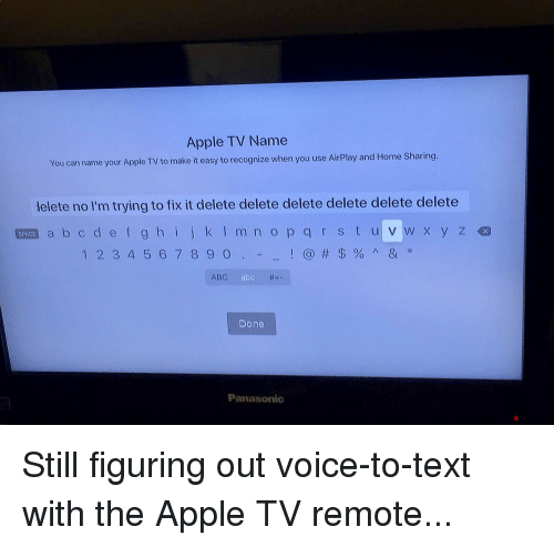 Apple Tv Name You Can Name Your Apple Tv To Make It Easy To
