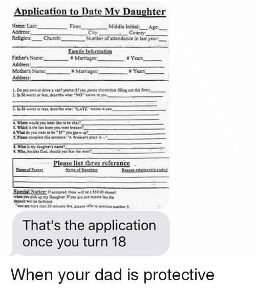 from Zaid dating daughter application
