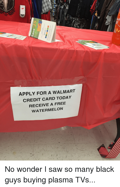 APPLY FOR a WALMART CREDIT CARD TODAY RECEIVE a FREE