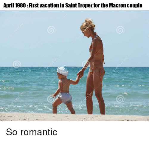 First vacation together as a couple