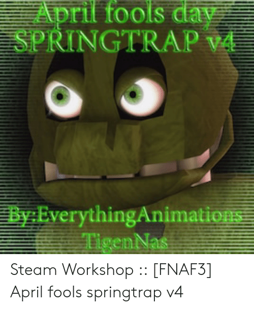 Steam Community Video Roblox Fnaf 3 Springtrap