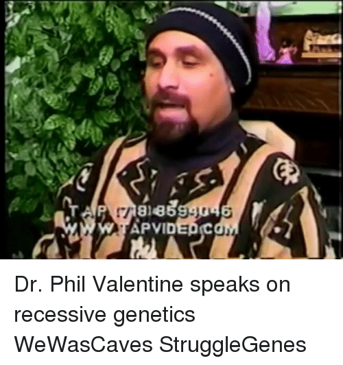 Memes, Recess, And 🤖: APVID Dr. Phil Valentine Speaks On Recessive Genetics