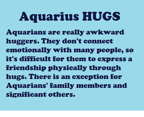 Dos and donts of hookup an aquarius