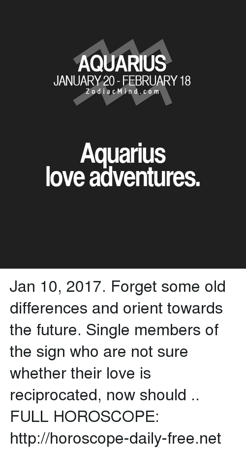 Aquarius Single Love Horoscope For Today