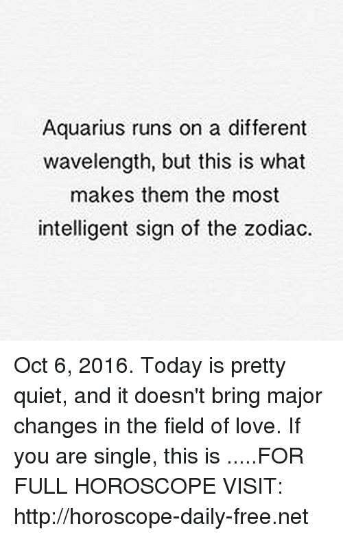 Aquarius Runs on a Different Wavelength but This Is What Makes Them