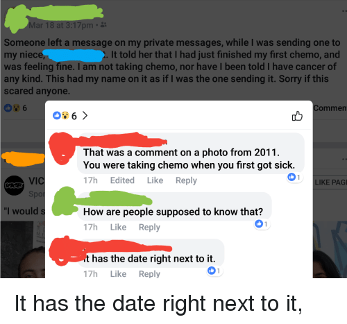 Dating someone who has cancer