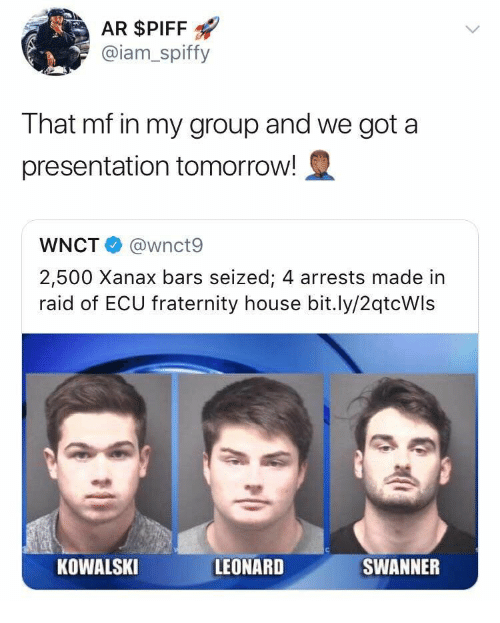 Fraternity group bang two