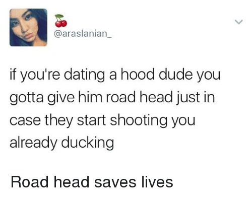 Dating a guy from the hood