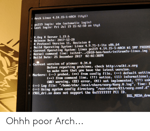 Arch Linux 41415-1-Arch Tty1 Pc219 Login Ntm Automatic Login Last