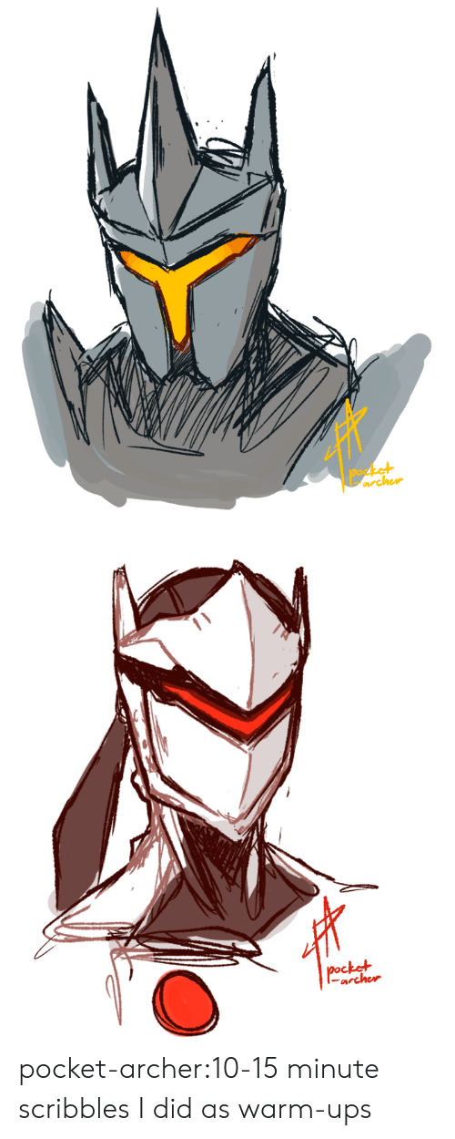 Tumblr, Ups, and Archer: archer   ctel  archer pocket-archer:10-15 minute scribbles I did as warm-ups