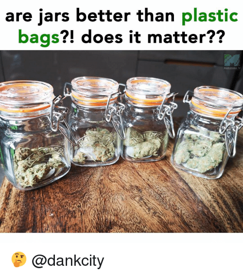 Are Jars Better Than Plastic Bags Does It Matter
