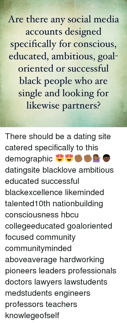 Dating site for socially conscious