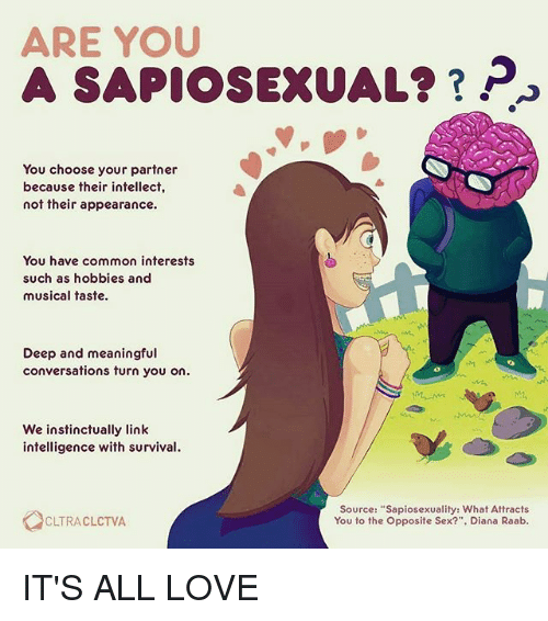 Whats sapiosexual