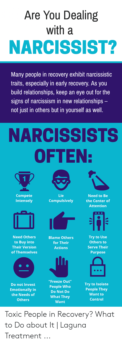 Are You Dealing With a NARCISSIST? Many People in Recovery Exhibit