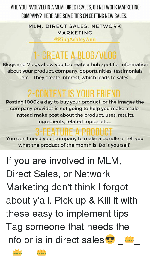 Memes Blog And Help ARE YOUINVOLVED IN A MLM DIRECT SALES