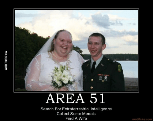 Area 51 Search For Extraterrestrial Intelligence Collect Some Medals Find A Wife Motifake Com