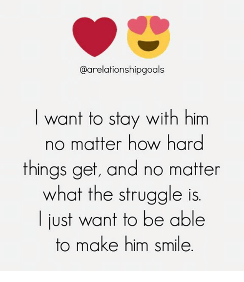Things to make him smile