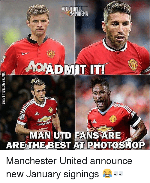 ARENA AONADMIT IT! EH MAN UTD FANS ARE ARE THE BEST AT ...