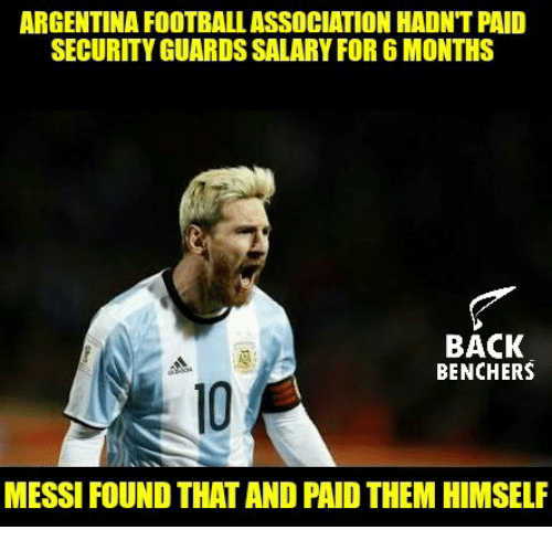 argentina football association hadnt paid security guards salary for 6 7726615 ✅ 25 best memes about security guard security guard memes