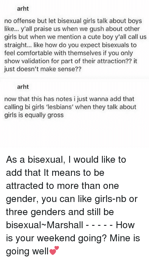 Bisexual Girls Boys