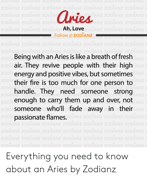 Aries Ah Love Follow Being With an Aries Is Like a Breath of Fresh