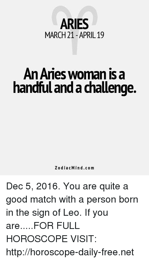 aries woman horoscope daily