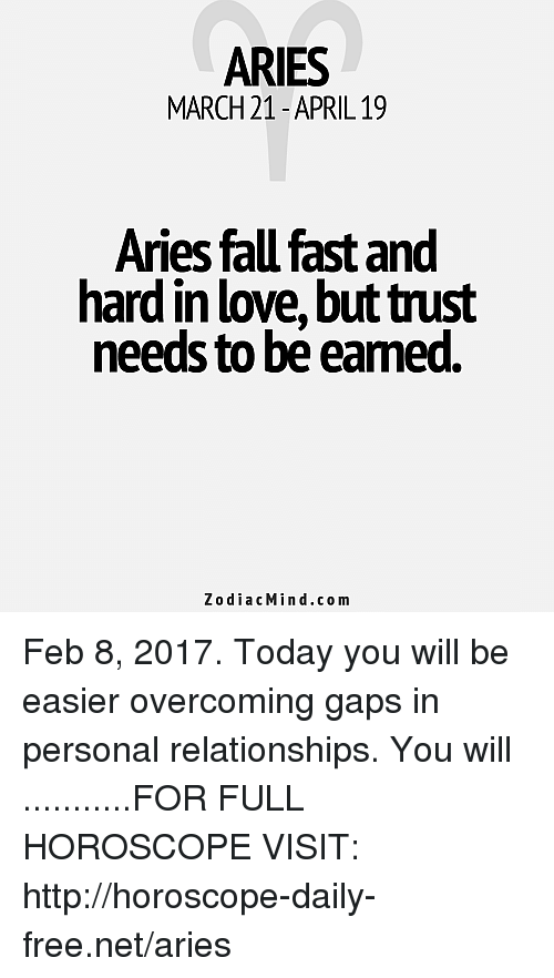 february love horoscope for aries