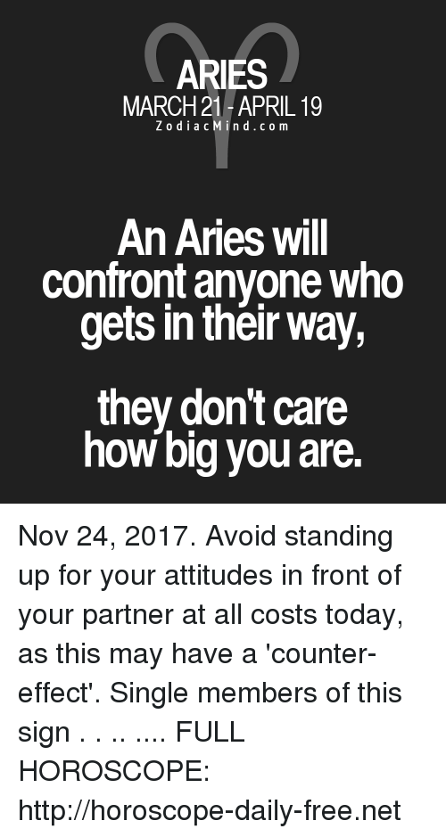 24 march horoscope aries or aries