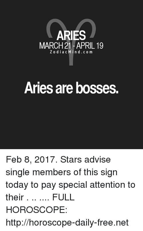 february 8 horoscope aries or aries
