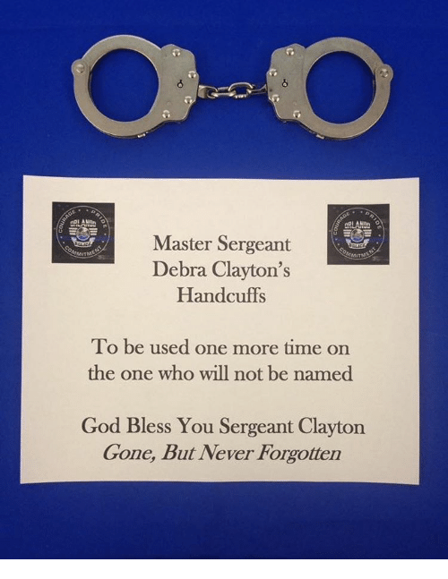 arlanan master sergeant debra claytons handcuffs to be used one 12238669 ✅ 25 best memes about handcuffs handcuffs memes