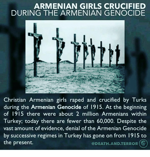 an analysis of armenian genocide by turks
