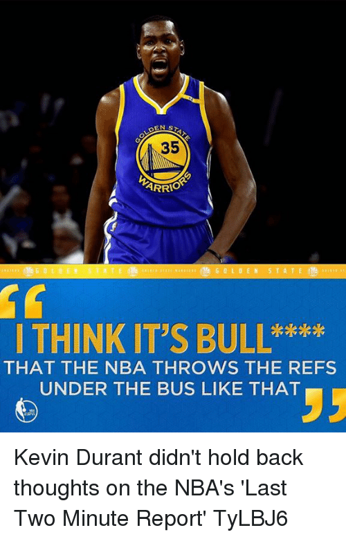 161529b2810 ARRIO I THINK IT S BULL     THAT THE NBA THROWS THE REFS UNDER THE ...