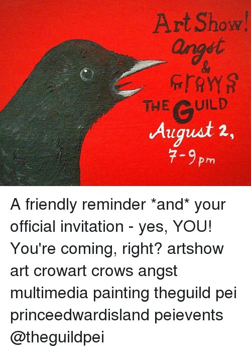 Memes, 🤖, and Art: Art Show anost THE UILD August 2, 7