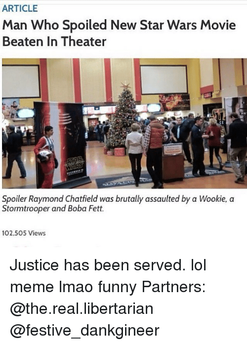 Justice Has Been Served