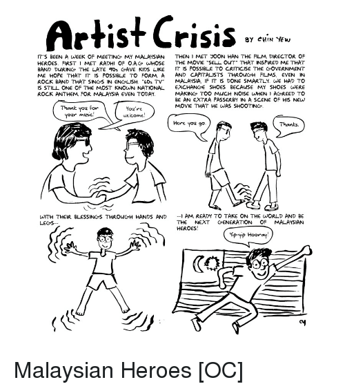artist crisis by chin yew it s been a week of meeting my malaysian Global Map Malaysia blessed movies and music artist crisis by chin yew it s been a week