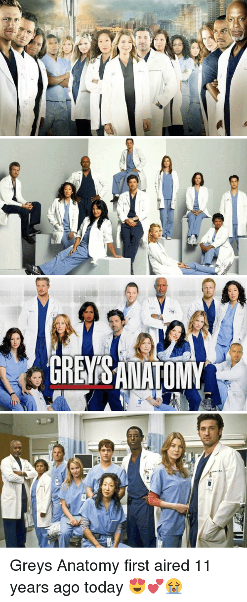 As 미 7 ieM Greys Anatomy First Aired 11 Years Ago Today ...