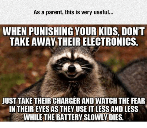 As a Parent This Is Very Useful WHEN PUNISHING YOUR KIDS