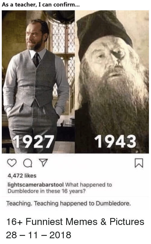 Image result for what happened to dumbledore in 16 years meme