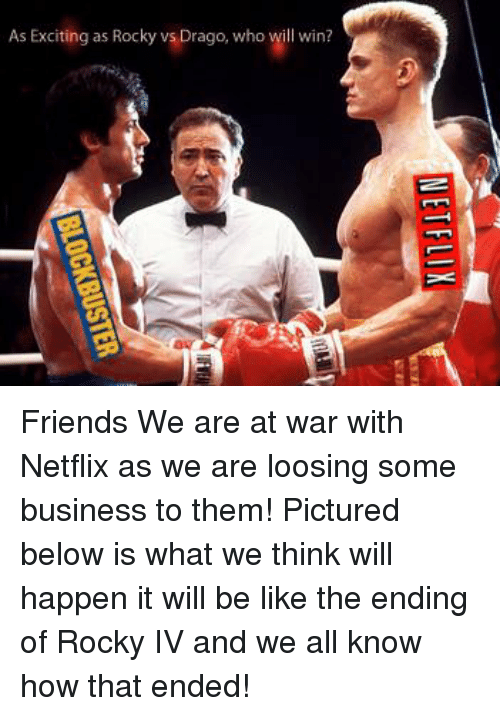 blockbuster vs netflix which will win