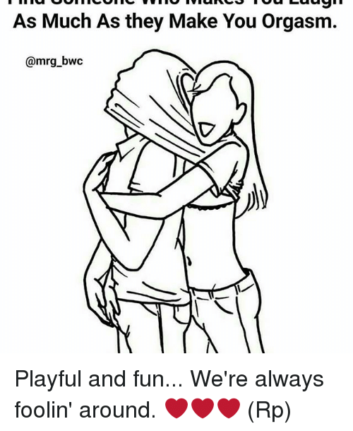Memes, 🤖, and Fun: As Much As they Make You Orgasm.  @mrg bwc Playful and fun... We're always foolin' around. ❤❤❤ (Rp)