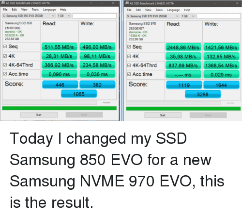 As SSD Benchmark 20682141776 File Edit View Tools Language C