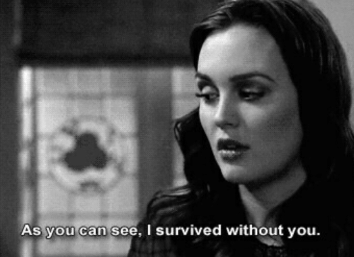 Can, You, and I Survived: As you can see, I survived without you.